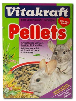 Obrázek Vitakraft Chinchilla pellets - pelety pro činčily 1Kg