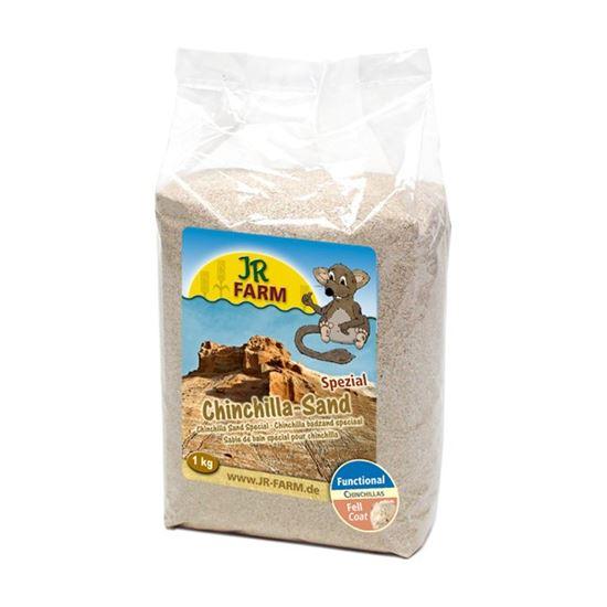 Obrázek JR Farm Písek pro činčily 1 kg