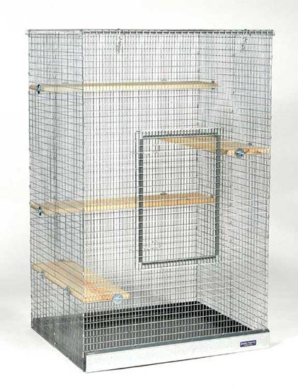 """Obrázek Klec Chinchilla Mansion ½"""" x 1"""" Wire Palác pro činčily (osmáky a veverky)"""