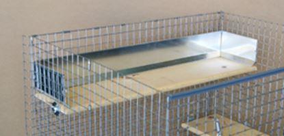 Obrázek Chrániče k poličce 61 x 18 cm (menší)