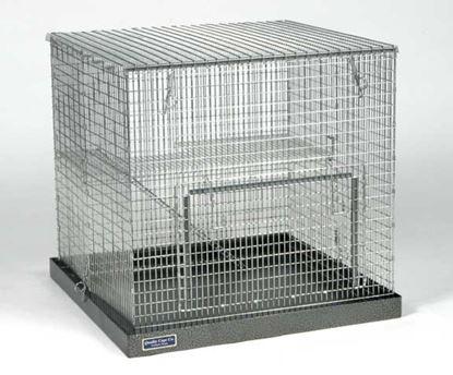 Obrázek Přenosná kovová klec 65 x 65 x 62 cm