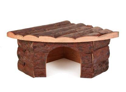 Obrázek Dřevěný dům rohový střední
