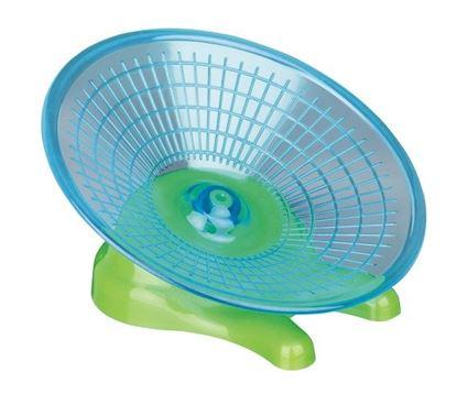Obrázek Kolotoč - letající talíř pro myši a křečky 17 cm