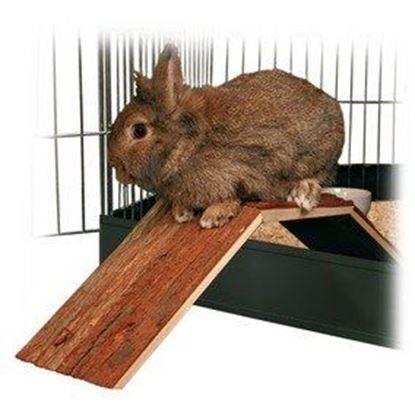 Obrázek Dřevěný most pro králíky a morčata do klecí