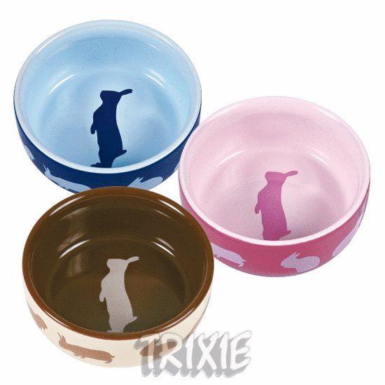 Obrázek Keramická miska králík (tři barvy)