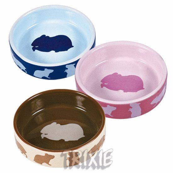 Obrázek Keramická miska křeček (tři barvy)