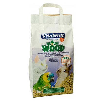 Obrázek Dřevěné pelety Vitakraft 5kg