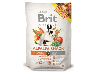 Obrázek Brit Animals Alfalfa snack 100 g