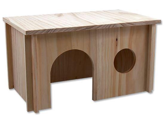 Obrázek Domek dřevěný hladký velký