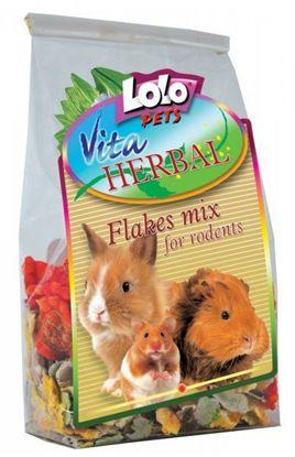 Obrázek Lolopets Vita Herbal Mix vloček 150g