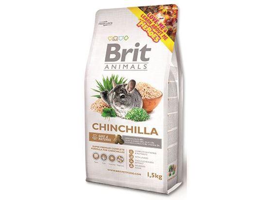 Obrázek Brit Animals Chinchilla Complete 1,5 kg