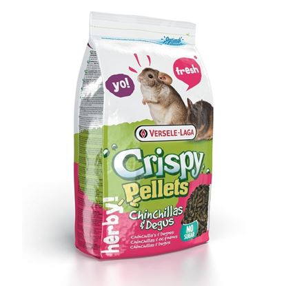 Obrázek Crispy Pellets Chinchilla & Degu 1 kg