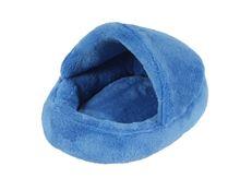 Obrázek Pelíšek hlodavci Papuče barva modrá