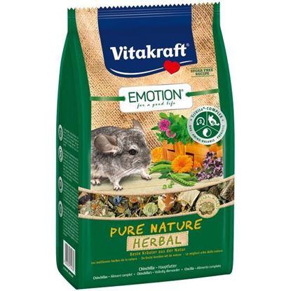 Obrázek Emotion Pure Nature Herbal činčila 600g