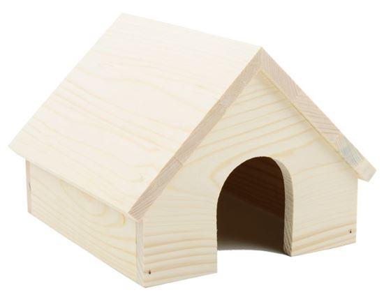 Obrázek Domek dřevo sedlová střecha
