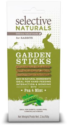 Obrázek Supreme Selective snack Naturals Garden Sticks 60 g