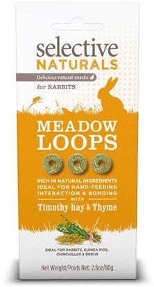 Obrázek Supreme Selective snack Naturals Meadow Loops 80 g