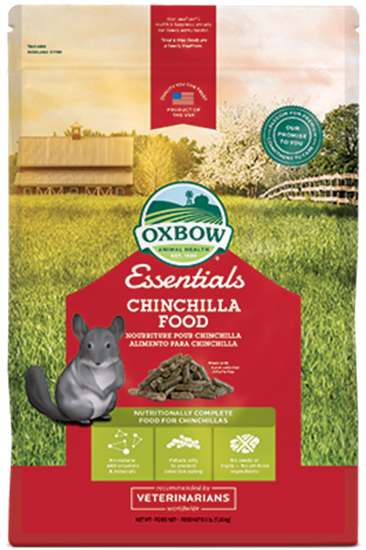 Obrázek Oxbow Chinchilla Deluxe pro činčily 4,55 kg