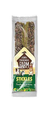 Obrázek Supreme Tiny Farm Stickles Bojínkové seno a bylinky 100 g
