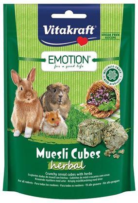 Obrázek Emotion Muesli Cubes herbal 80g