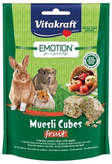 Obrázek Emotion Muesli Cubes fruit 80g