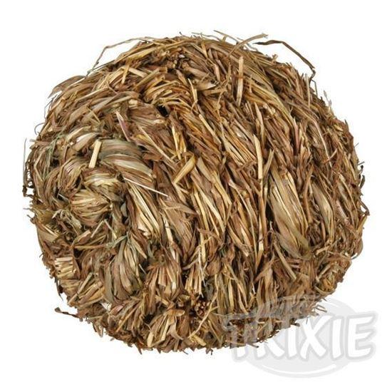 Obrázek Míček s rolničkou z trávy 10 cm